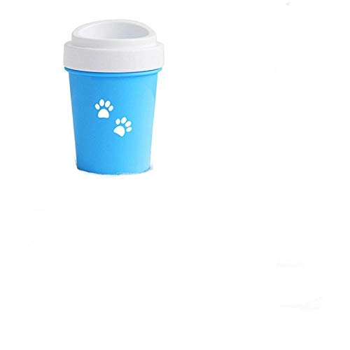 shubiao Paw Cup Soft for Dogs Foot Wash Tool Pet Feet Washer Portable Cat Dirty Paw Wash Brush Cup