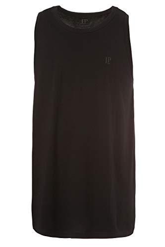 JP 1880 Herren große Größen bis 8 XL, Basic Unterhemd, Tanktop, Ärmellos, Rundhals, schwarz 7XL 705145 10-7XL
