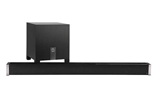 Definitive Technology Studio Advance 5.1 Channel Sound Bar with 9 Speakers | Includes an 8' Wireless Subwoofer | Built-in Chromecast, Bluetooth | HDMI ARC