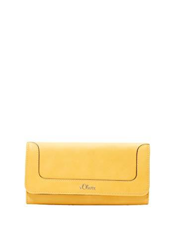 s.Oliver (Bags Damen 39.002.93.2466 Portemonnaie Geldbörse, Gelb (Yellow), 2x10x19 cm