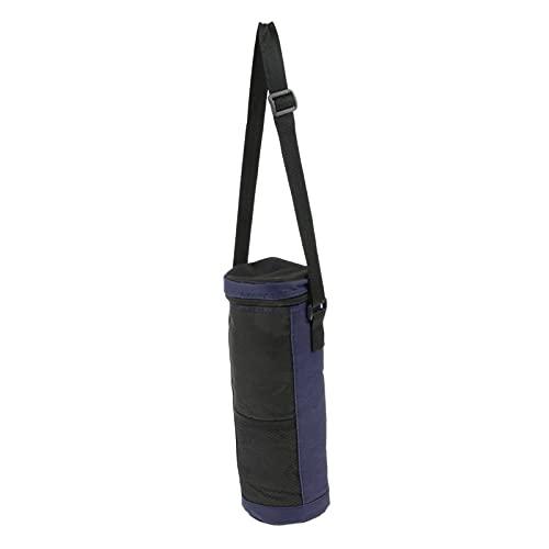 FLAMEER Sac Isotherme Isotherme pour Bouteille Portable 2L avec Sangle de Transport pour Boissons Bouteilles de vin pour Pique-niques, Festivals et Camping - Bleu