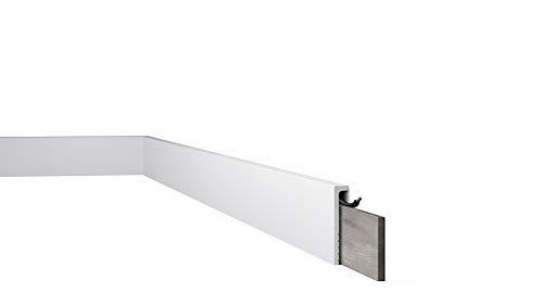 Cubre Zócalo / Moldura decorativa / Poliestireno Nmc Wallstyl CF2S