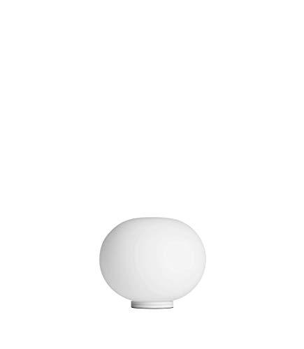 FLOS GLO-Ball Basic Zero Dim EU BCO, Vidrio opalino, Blanco, 19x16cm
