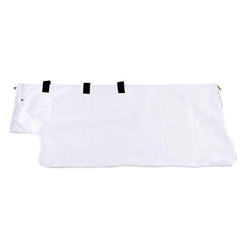 Universal Wood Chipper Shredder Mulcher Collection Discharge Bag Extra Large 24  Inch x 48  Inch Accessory For: GreatCircleUSA, Landworks, SuperHandy, Tazz & Earthquake (WOOD CHIPPER NOT INCLUDED)
