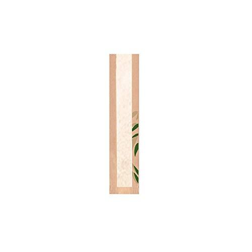 Garcia de Pou Broodzak met venster Classic 36 Gsm in doos, 9 + 4 x 35 cm, Kraft, natuurlijk, 9 x 35 x 30 cm