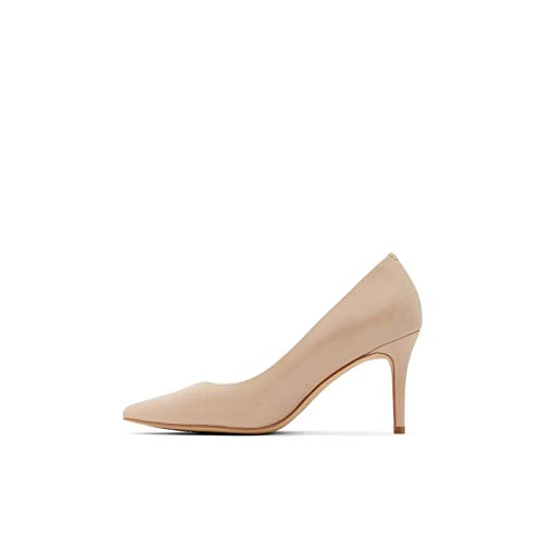 ALDO Women's Coronitiflex Dress Heel Pump, Bone, 8.5