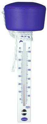 Brannan Schwimmendes Thermometer f/ür Pools und Teiche Whirl-