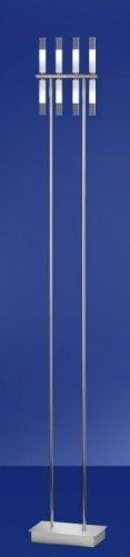 SLV stick 8 ampoules lampe de sol design moderne
