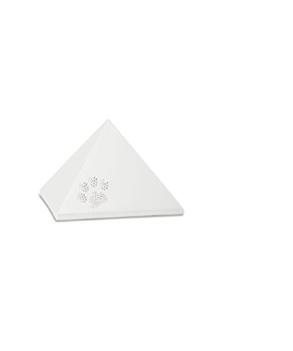 Völsing Tierurne Edition Pyramide mit Pfoten aus Swarowskisteinen (Perlmutt, 500 ml)