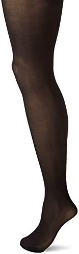 HUE Women s Opaque Tights with Control Top 2 Pack Black 2 product image