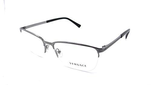 Versace 0VE1263 Monturas de gafas, Gunmetal, 55 para Hombre