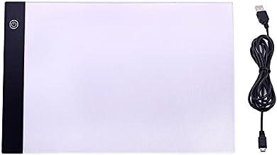 CNmuca Transmissão de luz LED Prancheta de desenho Mesa de cópia com vários olhos Cuidados Placa de iluminação Suprimentos...