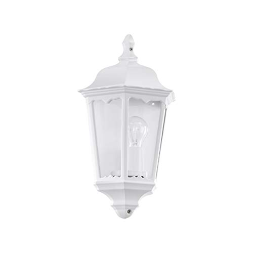 Eglo 93448 Lanterne, Aluminium, E27, Transparent