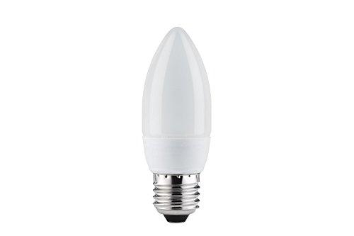 Ampoule éco en forme de bougie 5W-E27 bleue Paulmann