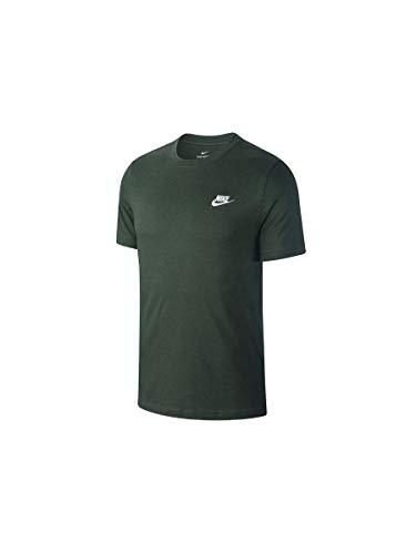 Nike Herren Sportswear Club T-Shirt Grün L