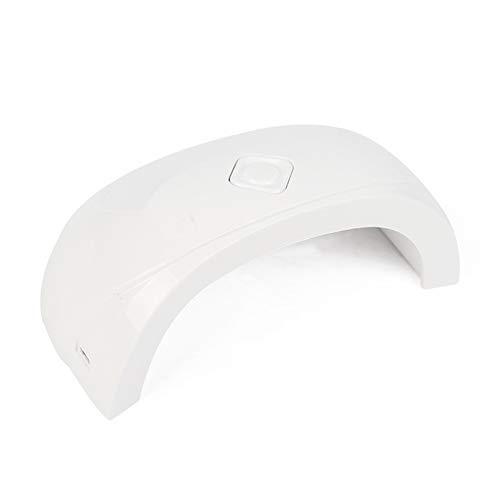 Lampes UV Double source de lumière Sèche-ongles 18w Mini ne blesse pas les yeux LED Lampe de cuisson à la colle de colle Portable Lampe solaire