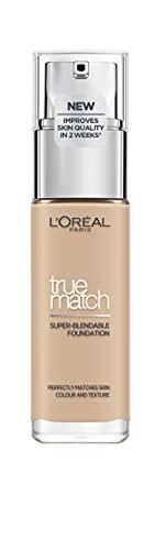 L'Oréal Paris True Match Liquid Foundation 2.C Rose Vanilla,30ml