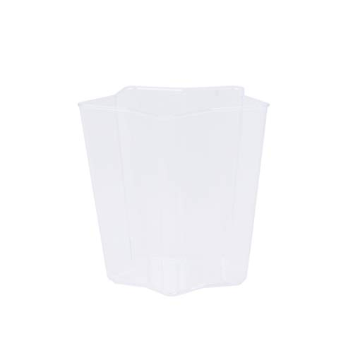 UPKOCH Mini Bicchieri da Dessert Trasparenti Bicchieri di plastica USA e Getta per budini di semifreddo Dessert alla Mousse di tiramisù (Stile Casuale)