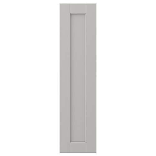 LERHYTTAN dörr 20 x 80 cm ljusgrå