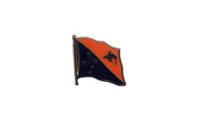 Flaggen-Pin/Anstecker Papua-Neuguinea vergoldet