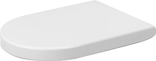 Duravit Starck 3 Toilet Seat and Cover, 0063320000,White Alpin,Small