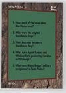Trivia Card (Trading Card) 1991 Star Pics Twin Peaks - [Base] #69