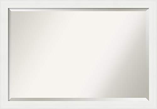 Amanti Art Framed Vanity Mirror | Bathroom Mirrors for Wall | Vanity -