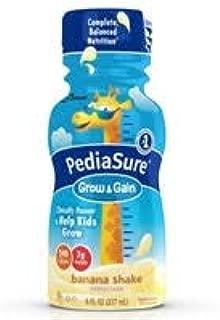 PediaSure Grow & Gain Nutrition Shake for Kids, Banana (Pack of 2)
