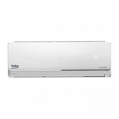 BEKO Aire Acondicionado Split 1x1 BEUPA 091, 2.236 frig/h y 1.892 kcal/h, Inverter, A++/A+, Blanco.