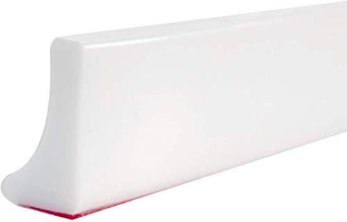 39 Inch Protezione dell'acqua per doccia pieghevole,barriera per diga d'acqua Soglia per doccia Soglia, fermo per separazione a secco e umido