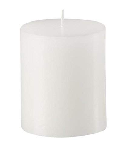 Mister Candle - 3 inch by 4 inch Tall Citronella Scented Pillar Candles (Set of 3) - Indoor & Outdoor Use Made in USA