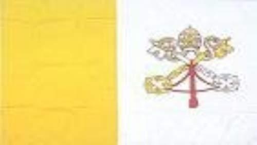 SHOPZEUS Vatican City/Papal Flag Polyester 3 ft. x 5 ft.