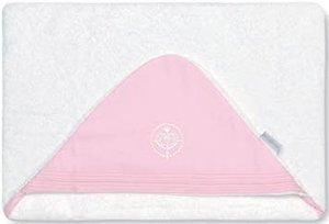 Bimbi Elite – Maxicapa, 100 x 100 cm, couleur blanc et rose