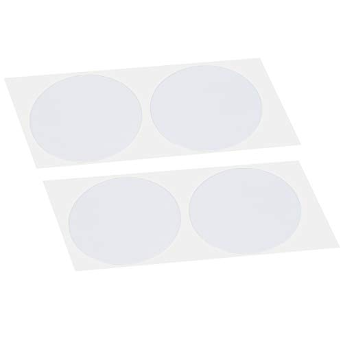 DoHope 25Pairs Mens Nipple Concealer Protector Invisible Nipple Covers Prevent Nipple Chafing Sticker Patch 3cm / 3.5cm (3.5CM Translucent)