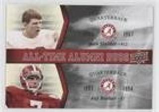 Kenny Stills; Ken Stabler (Football Card) 2012 Upper Deck University of Alabama - All-Time Alumni Duos #ATAD-SB