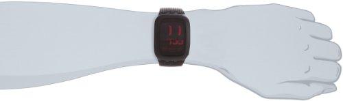 Swatch Orologio Analogico-Digitale Unisex con Cinturino in Silicone SURB102