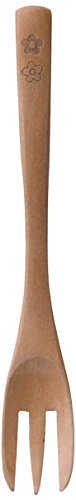 k-ai『hanaco はなこ 木製ケーキフォーク 5本セット(953106)』