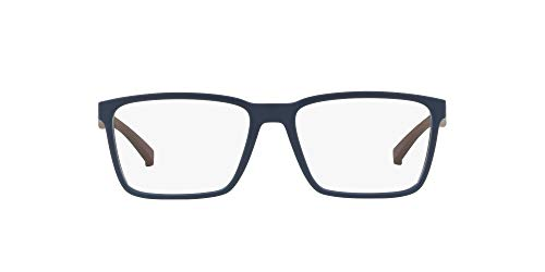 Arnette - Gafas con receta para hombre, color azul mate/lente de demostración, 52 mm