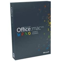 Office Mac Home and Business 2011 - 1MAC/1User (Disc Version)