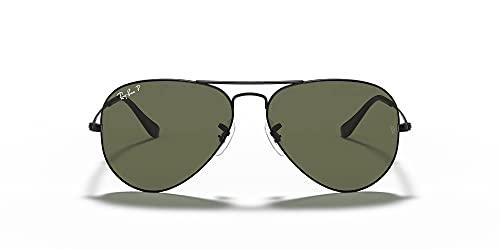 Ray Bnas - Gafas de sol clásico unisex 0Rb3025 negro para hombre y mujer