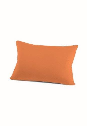 schlafgut 034-301 Mako Jersey Kissenbezug / 40 x 60 cm, orange