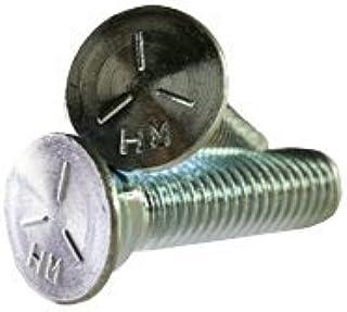 1//2-13x3 1//2 Plow Bolt Plain Grade 5 inch 3 Head Quantity: 200