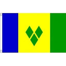 . ST Vincent et Grenadines Drapeau national