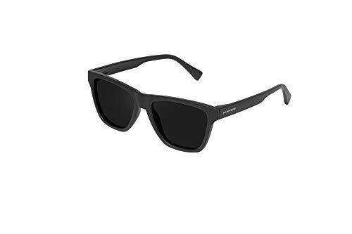 HAWKERS · Gafas de Sol ONE LS Carbon Black Dark, para Hombre y Mujer, con montura negra mate y lentes negras polarizadas, Protección UV400