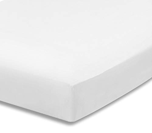 EVERYDAY KIDS 2 Pack Fitted Girls Crib Sheet, 100% Soft Microfiber, Breathable and Hypoallergenic Baby Sheet, Fits…