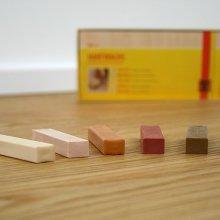 Bembé Parkett Hartwachsstifte in vielen Holzfarbtönen und Farben 157 Mooreiche/Räuchereiche