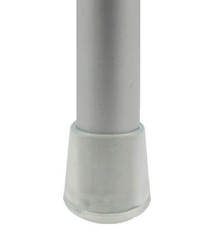 16 Piezas: Muchos Tamaños - Tapas Pies de Cúpula Transparente para Muebles Patas Mesas Sillas por