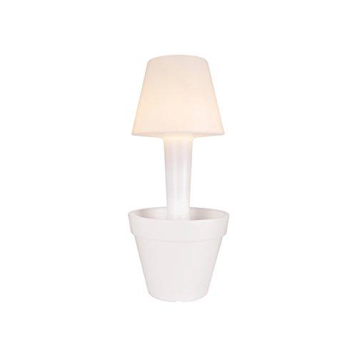 Elho Pure Twilight 50 - bloempot - transparant - binnen en buiten - Ø 50 x H 113,8 cm