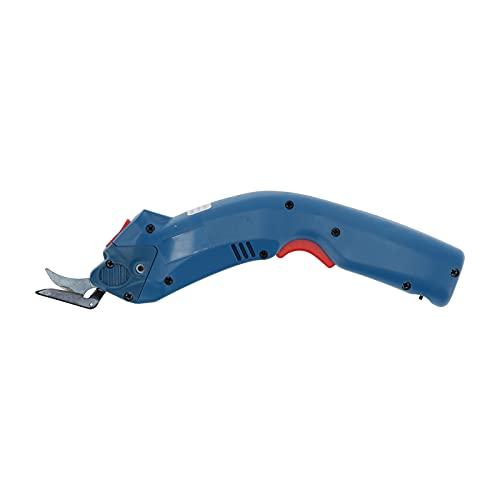 Eujgoov Tijeras eléctricas para tela, cortador de tela inalámbrico portátil AC110-240V con...