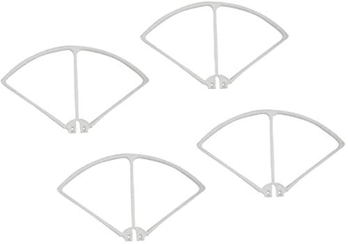 Set di protezioni per paraurti di protezione dell'elica per drone per quadricottero RC Syma X8C X8W X8G X8HW, 5 colori tra cui scegliere ,Accessori di ricambio RC (Colore: bianco) stia tranquillo